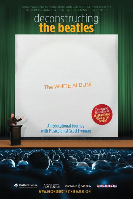 white album poster